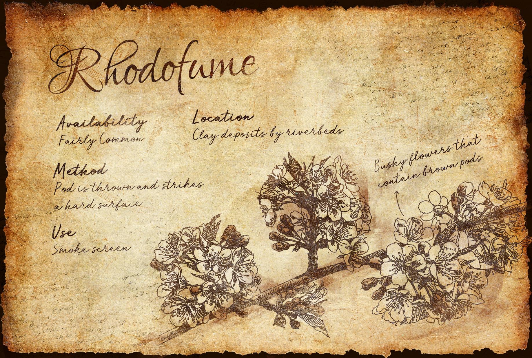 Rhodofume